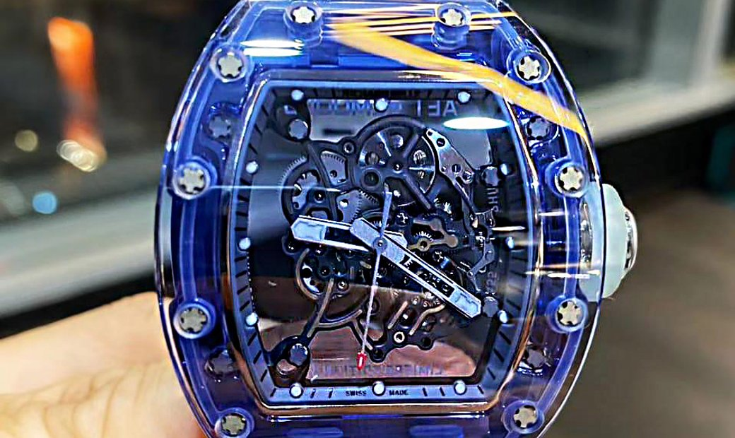 Richard Mille [NEW] RM 055 Blue Sapphire By Aet Remould