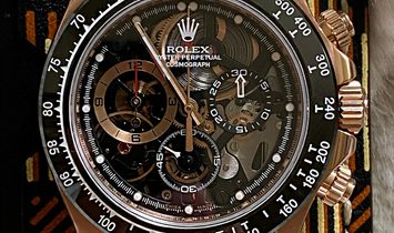 Rolex [NEW] Daytona 'La Barrichello' Rose Gold by Artisans de Genève