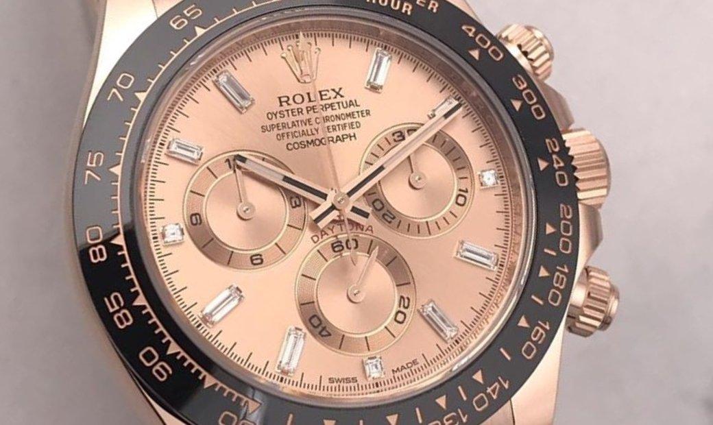Rolex Daytona 116515LN-0021 18 Ct Everose Gold and Pink Dial