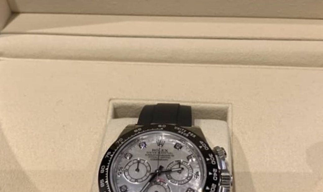 Rolex Daytona 116519LN-0026 Cosmograph 18 Ct White Gold White Mother-Of-Pearl Dial