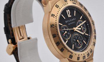 Bvlgari Diagono Professional Chronograph Yellow Gold