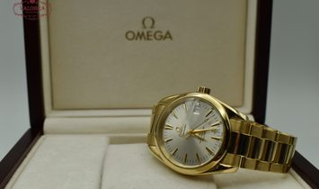 Omega Seamaster 2500 Aqua Terra Co-Axial Yellow Gold