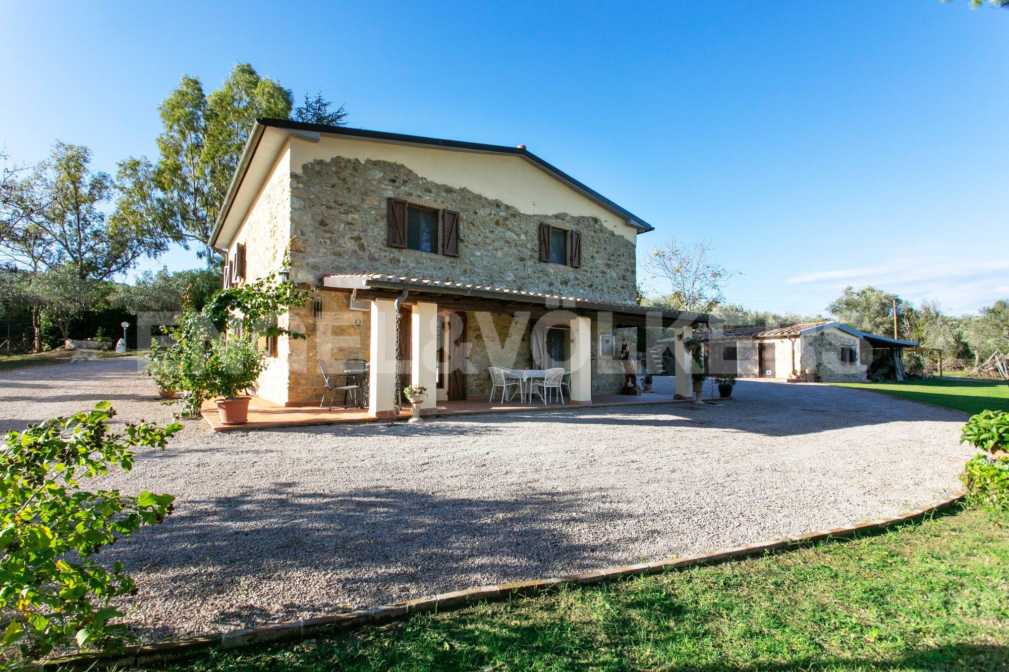Country House in Vetulonia, Tuscany, Italy 1