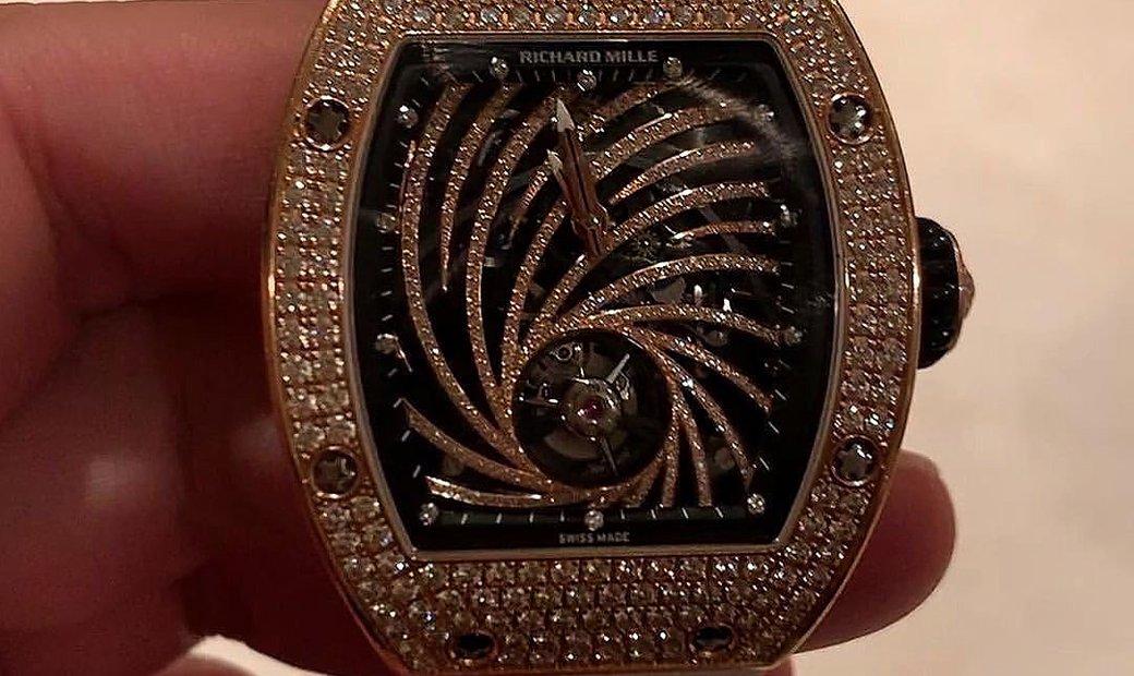 Richard Mille [LIMITED 30 PIECE] RM 51-02 Tourbillon Diamonds Twister