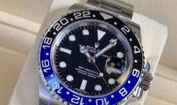 "Rolex GMT-Master II 116710BLNR-0002 ""Batman"" Oystersteel"