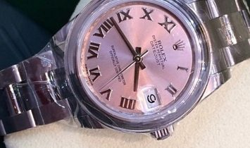 Rolex Datejust 31 178240-0032 Oystersteel Pink Dial