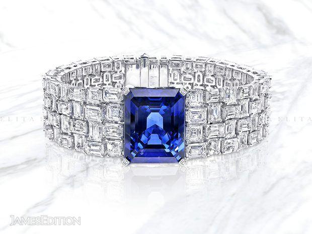 Graff Sapphire and Diamond Bracelet (11006523)