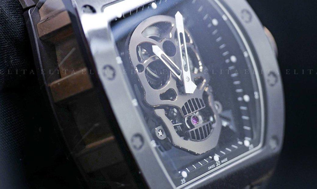 """Richard Mille RM 52-01 """"Skull"""" Rose Gold Titanium and Ceramic"""