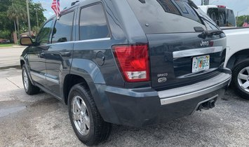 2007 Jeep Grand Cherokee Overland Sport Utility 4D