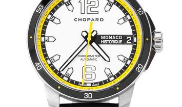 Chopard Grand Prix 168568-3001, Baton, 2014, Very Good, Case material Titanium, Bracele