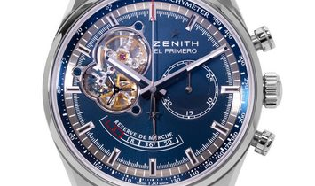 Zenith Chronomaster Power Reserve 03.2085.4021/51.C700, Baton, 2015, Very Good, Case ma