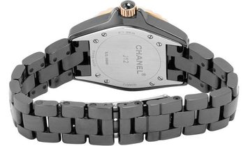 Chanel J12 H2543, Diamonds, 2011, Good, Case material Ceramic, Bracelet material: Ceram