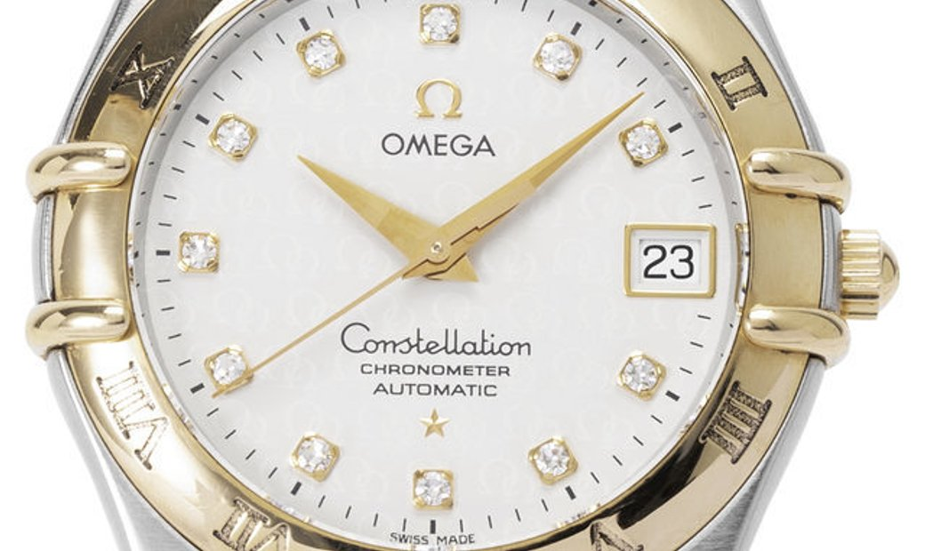 Omega Constellation 1304.35.00, Baton, 2003, Very Good, Case material Steel, Bracelet m