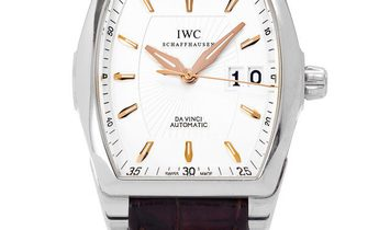 IWC Da Vinci Automatic IW452303, Baton, 2009, Very Good, Case material Steel, Bracelet