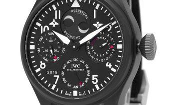 IWC Big Pilots IW502902, Arabic Numerals, 2013, Very Good, Case material Titanium, Brac