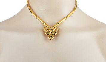 Ilias Lalaounis Ilias Lalaounis 18K Yellow Gold Choker Necklace