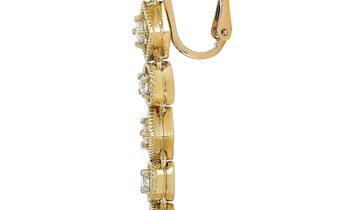 Ilias Lalaounis Ilias Lalaounis 18K Yellow Gold 1.10 ct Diamond Earrings