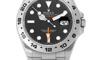 Rolex Explorer II 216570, Baton, 2013, Very Good, Case material Steel, Bracelet materia