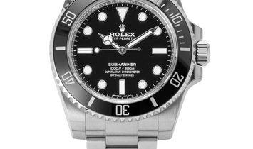 Rolex Submariner 114060, Baton, 2020, Unworn, Case material Steel, Bracelet material: S
