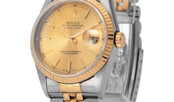 Rolex Datejust 16233, Baton, 1994, Good, Case material Steel, Bracelet material: Steel