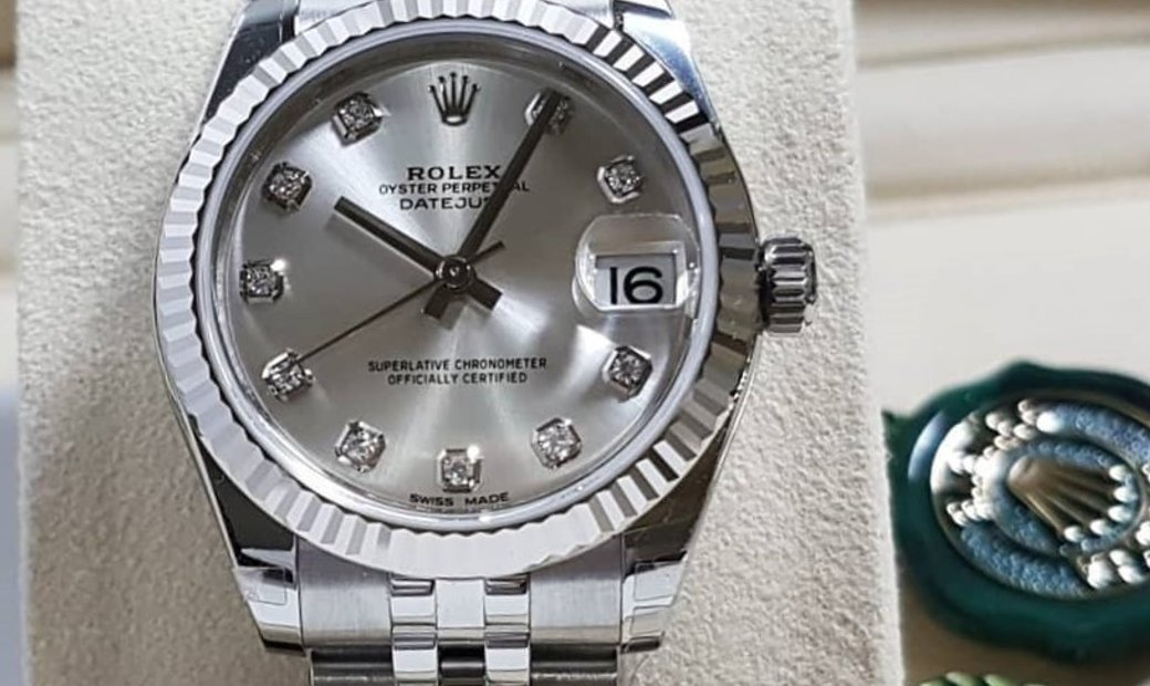 Rolex Datejust 31 mm 178274-0018 Oystersteel and White Gold