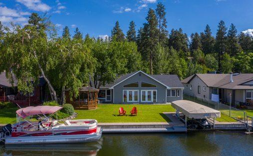 House in Bigfork, Montana, United States