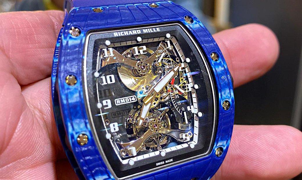 Richard Mille RM 014 Blue Perini Navy Cup Tourbillon