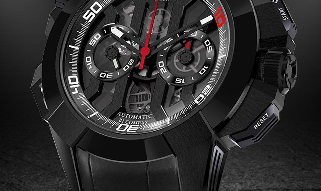 JACOB & CO. 捷克豹 [NEW] EPIC-X CHRONO LUIS FIGO EC311.21.SD.BF.A (Retail:HK$276,900)