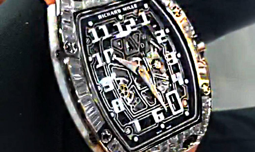 Richard Mille [NEW] RM 67-01 White Gold Baguette Watch