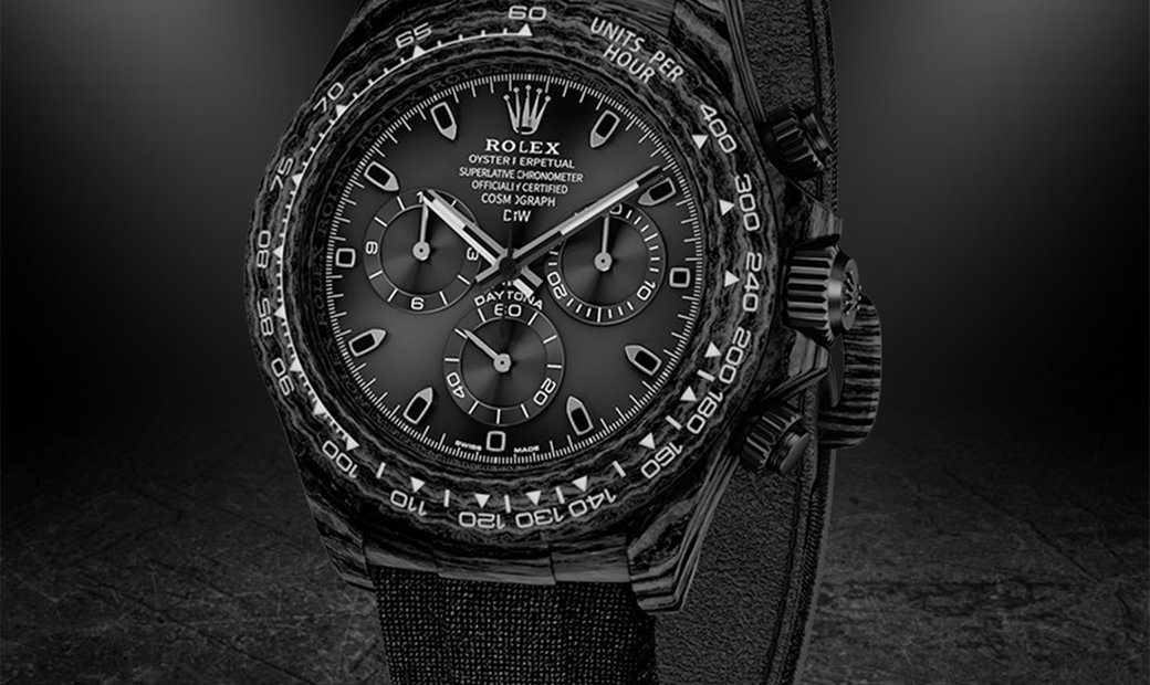 "Rolex DiW Cosmograph NTPT Carbon Daytona ""ALL BLACK"" (Retail:US$43,990)"