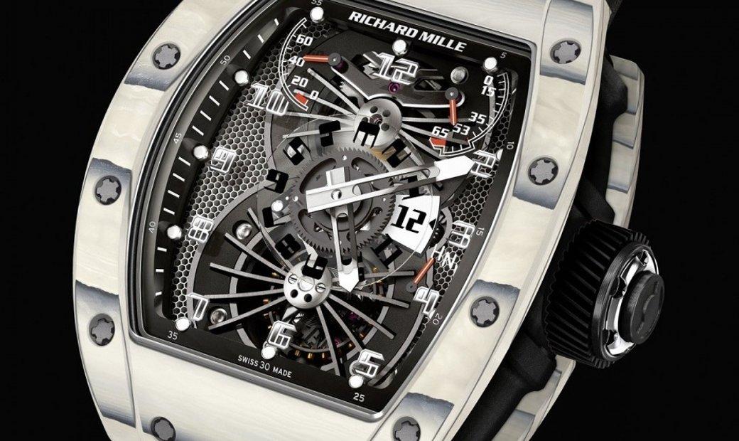 Richard Mille [NEW] RM 022 Tourbillon Aerodyne Dual Time Zone Watch