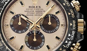 "Rolex DiW [LIMITED 10 PIECE] NTPT Carbon Daytona ""DESERT EAGLE"" (Retail:US$56,800)"
