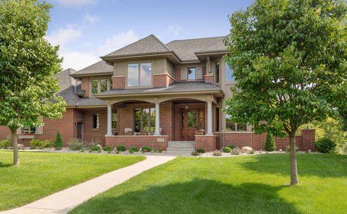 House in Edina, Minnesota, United States
