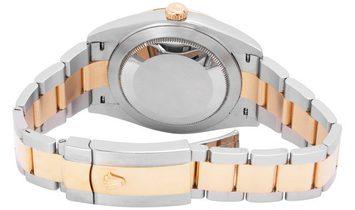 Rolex Datejust 126333, Baton, 2017, Very Good, Case material Steel, Bracelet material: