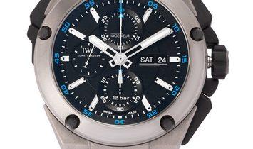 IWC Ingenieur IW376501, Baton, 2006, Very Good, Case material Titanium, Bracelet materi