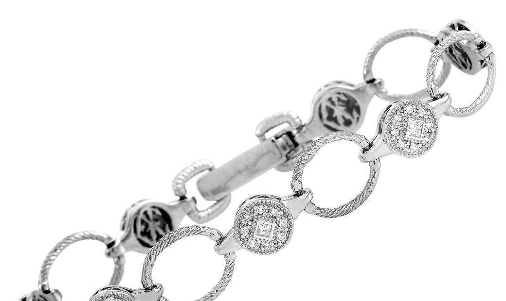 Charriol Charriol 18K White Gold 0.75 ct Diamond Bracelet