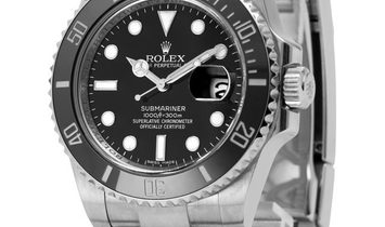 Rolex Submariner 116610LN, Baton, 2011, Good, Case material Steel, Bracelet material: S