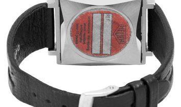 Heuer Monaco 740303, Baton, 1970, Good, Case material Steel, Bracelet material: Leather