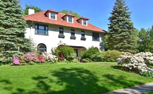 House in Village of Pelham, New York, United States