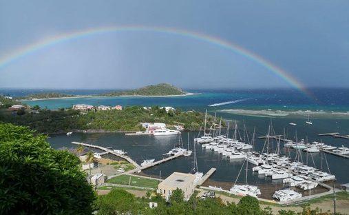 House in Parham Town, Tortola, British Virgin Islands