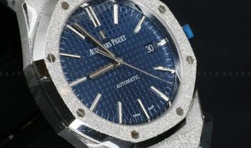 Audemars Piguet Royal Oak 15410BC.GG.1224BC.01 Frosted White Gold