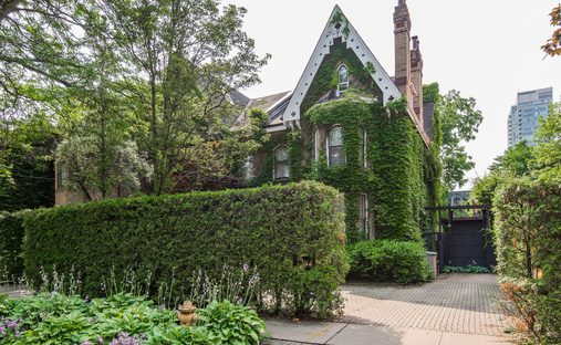 House in Old Toronto, Ontario, Canada