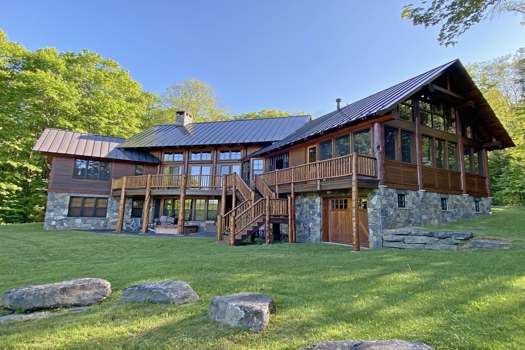 House in Wilmington, Vermont, United States 1