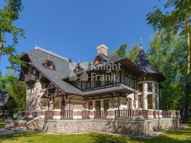 House in Gribovo, Moscow, Russia 1