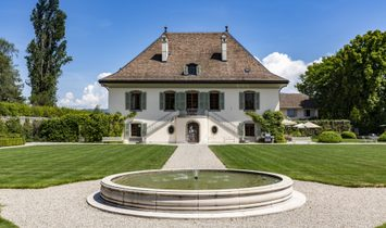 Farm Ranch in Meinier, Genève, Switzerland 1