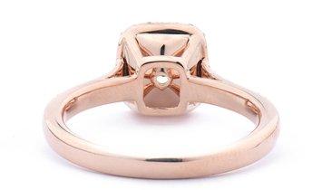 Fancy Greenish Yellow Diamond Ring, 1.67 Ct. TW, Cushion shape, GIA Certified, 2166900145