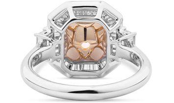 Fancy Orange Yellow Diamond Ring, 2.16 Ct. (2.83 Ct. TW), Radiant shape, GIA Certified, 2165127467
