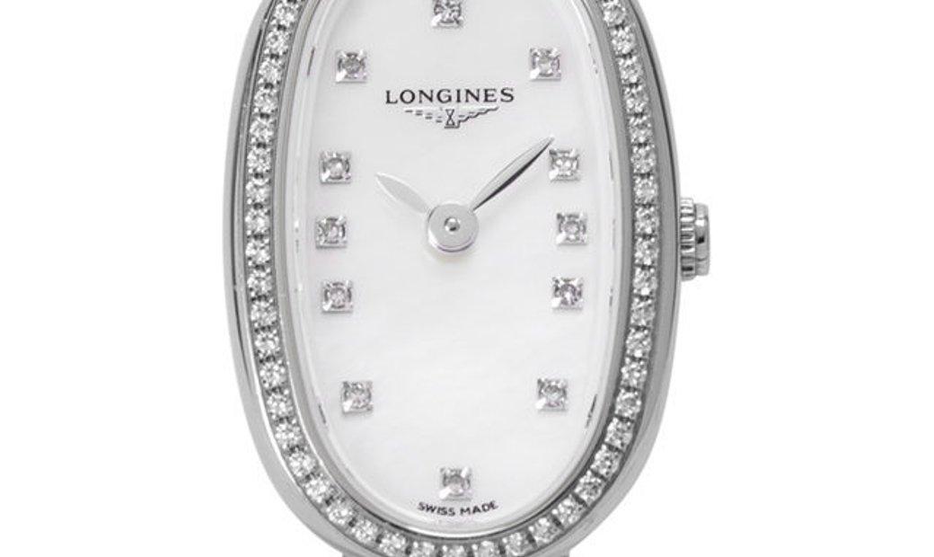 Longines Symphonette L2.304.0.87.6, Diamonds, 2016, Very Good, Case material Steel, Bra