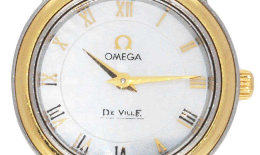 Omega De Ville Prestige Ladies 4370.71.00, Roman Numerals, 2009, Good, Case material St