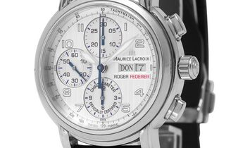 Maurice Lacroix Masterpiece MP6128-SS001-92G, Arabic Numerals, 2006, Very Good, Case ma